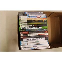 Lot of Video Games: Wii, PS3, XBOX, XBOX 360 & PS2
