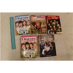 Designing Women Seasons 1 & 2 DVDs& Brothers&Sisters DVDs Seasons 2,3&4 (All Complete)