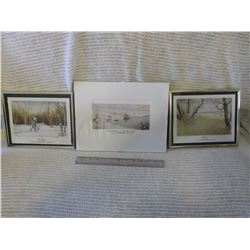 Ducks Unlimited Prints (3) By T.Fuhr
