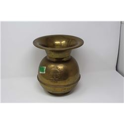 Redskins Tobacco Brass Spitoon