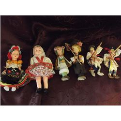 Ethnic Dolls (6)(4 Different Countries)