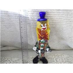 Murano Glass Clown- Italy