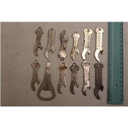 Lot of Advertising Bottle Openers