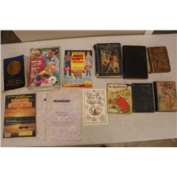 Lot Of Vintage Paper Related, Books, Army And Navy, Sears Etc)