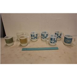 Lot Of Fire King Coffee Cups
