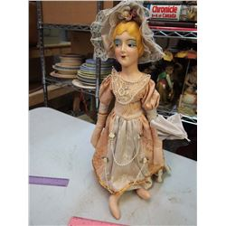 Nice 1930's Bed Doll