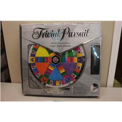 Trivial Pursuit Silver Anniversary Coffee Table Edition