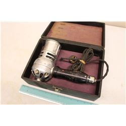Vintage Hairdryer 'The Star Electric Hair Dryer'