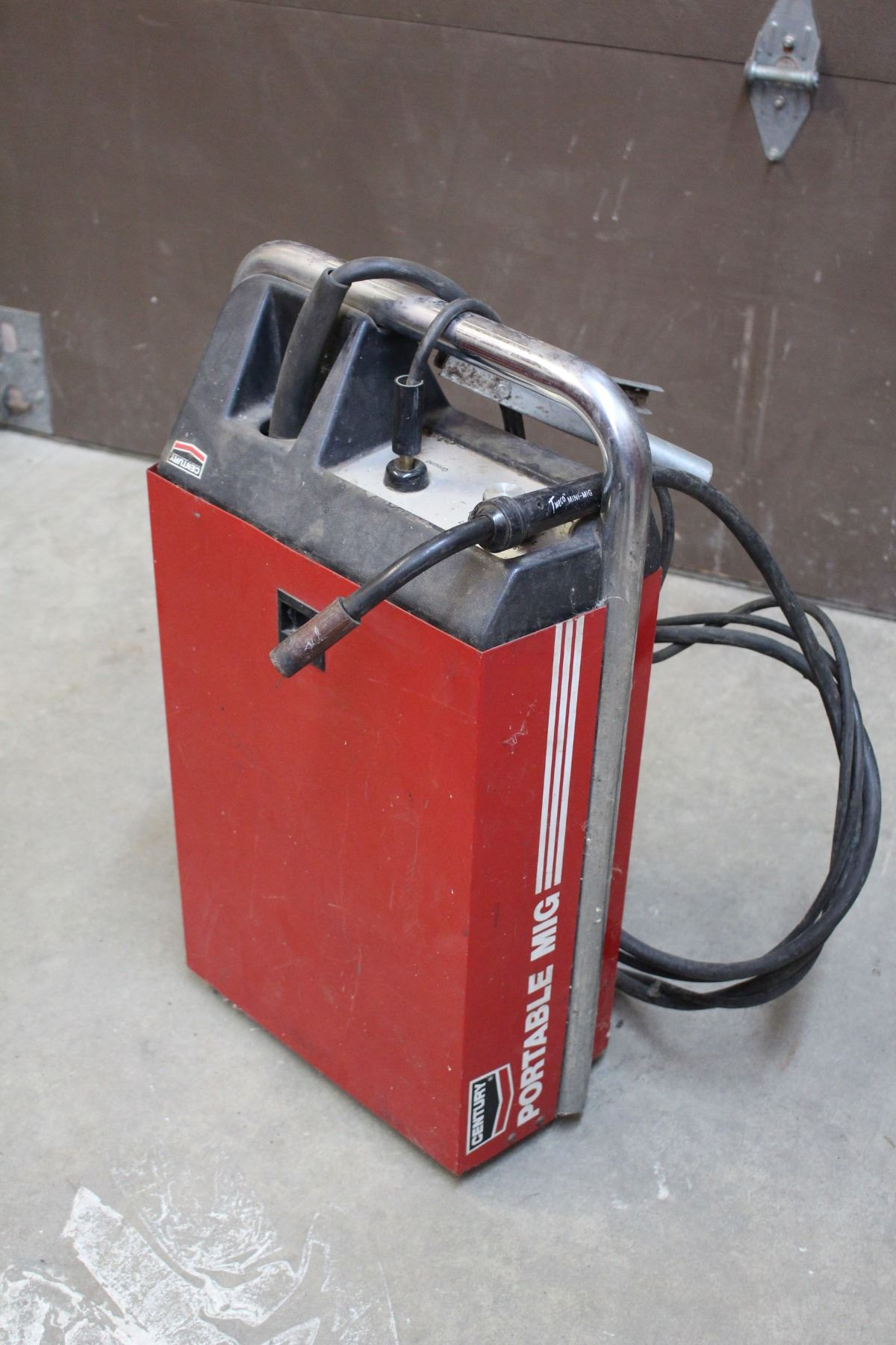 century portable mig wire feed welder with manual and lots of rh icollector com century 160 mig welder parts century 125gl mig welder manual