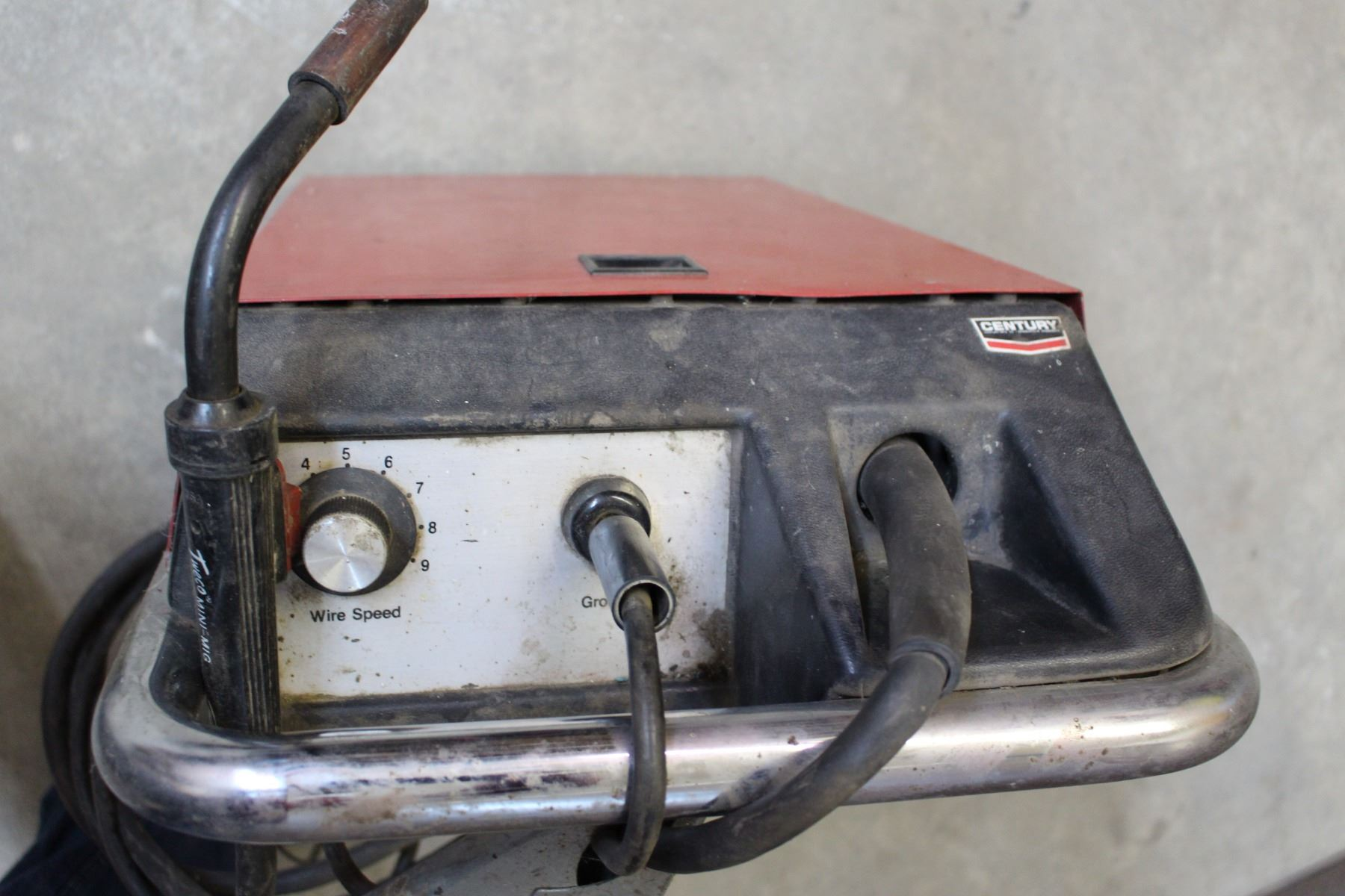 Century Portable Mig Wire Feed Welder With Manual And Lots Of Parts Related Keywords Suggestions Image 2 Accessories