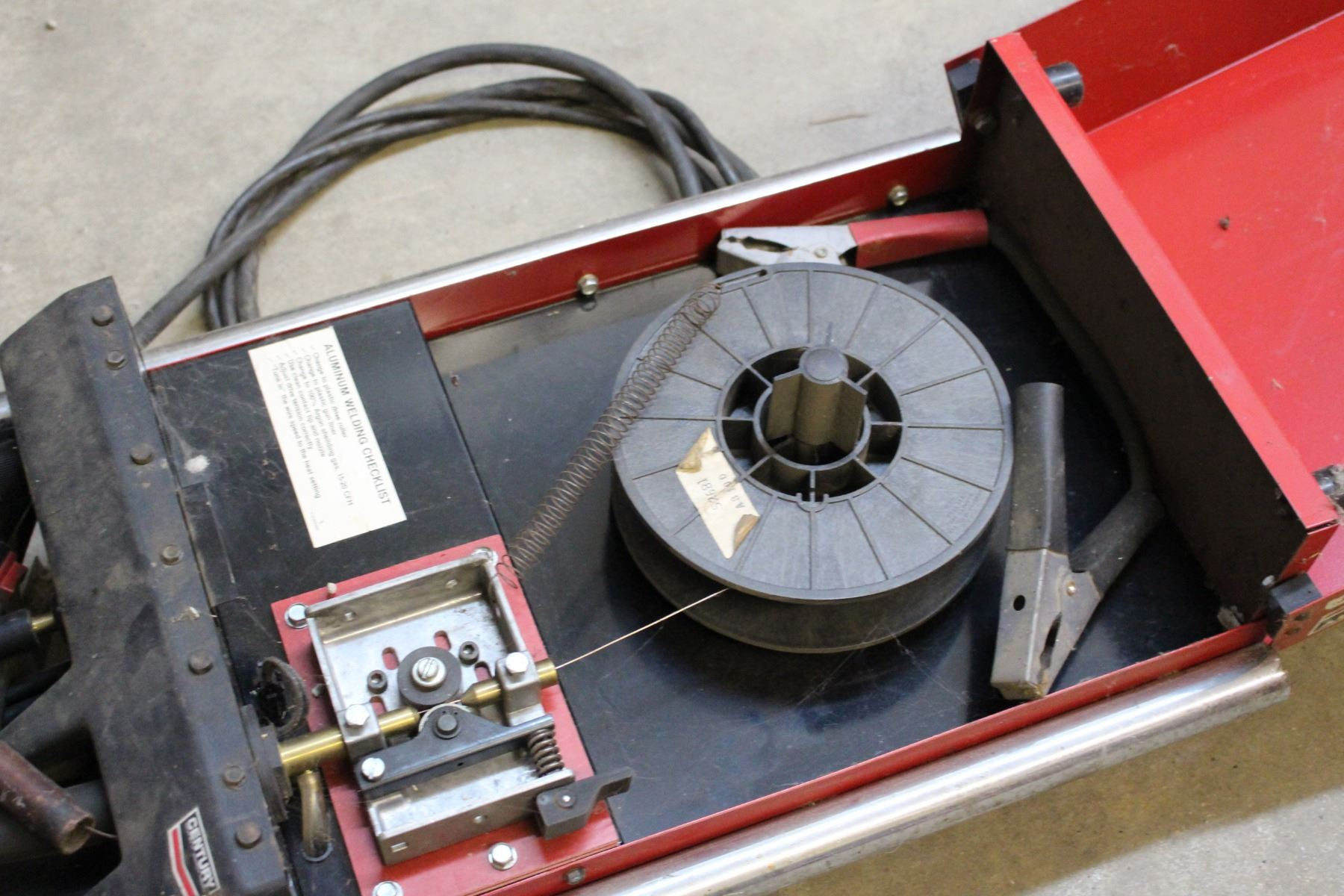 Century Portable MIG Wire Feed Welder, With Manual And Lots Of ...