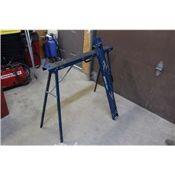 Pair Of Mastercraft Metal Sawhorses