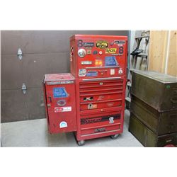 Snap-On Blazer Tool Chest- 3 Pieces, On Wheels- Sold Together w/Contents (See All Photos for Tools)