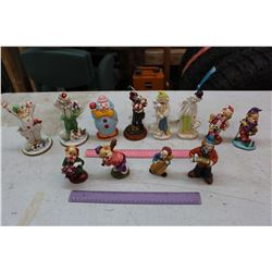 Lot of Clown Figures (12)