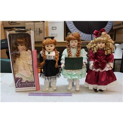 Collector Dolls (4)