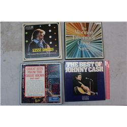 Reader's Digest Records (4 Sets)(The Best of Johnny Cash, Kenny Rogers, Etc)