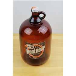 160oz A&W Advertising Syrup Jug