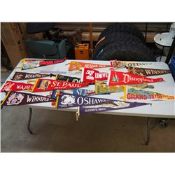 Large Vintage Wool Pennants (15)