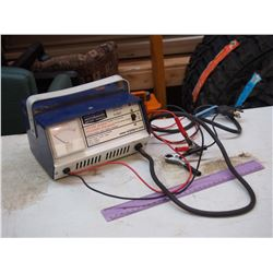 MotoMaster Battery Charger, Working