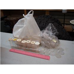 60 Tubes Of Coins And 75 Capsules For Coin