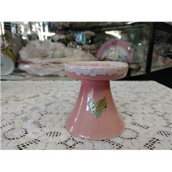 "MIDCENTURY ROSEVILLE POTTERY ""PASADENA"" CANDLE HOLDER"