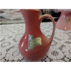 MIDCENTURY PITCHER BY ROSEVILLE POTTERY