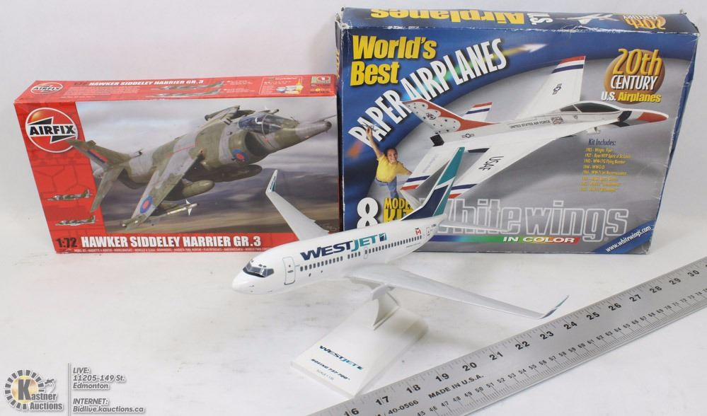 white wings paper airplanes kit 20th