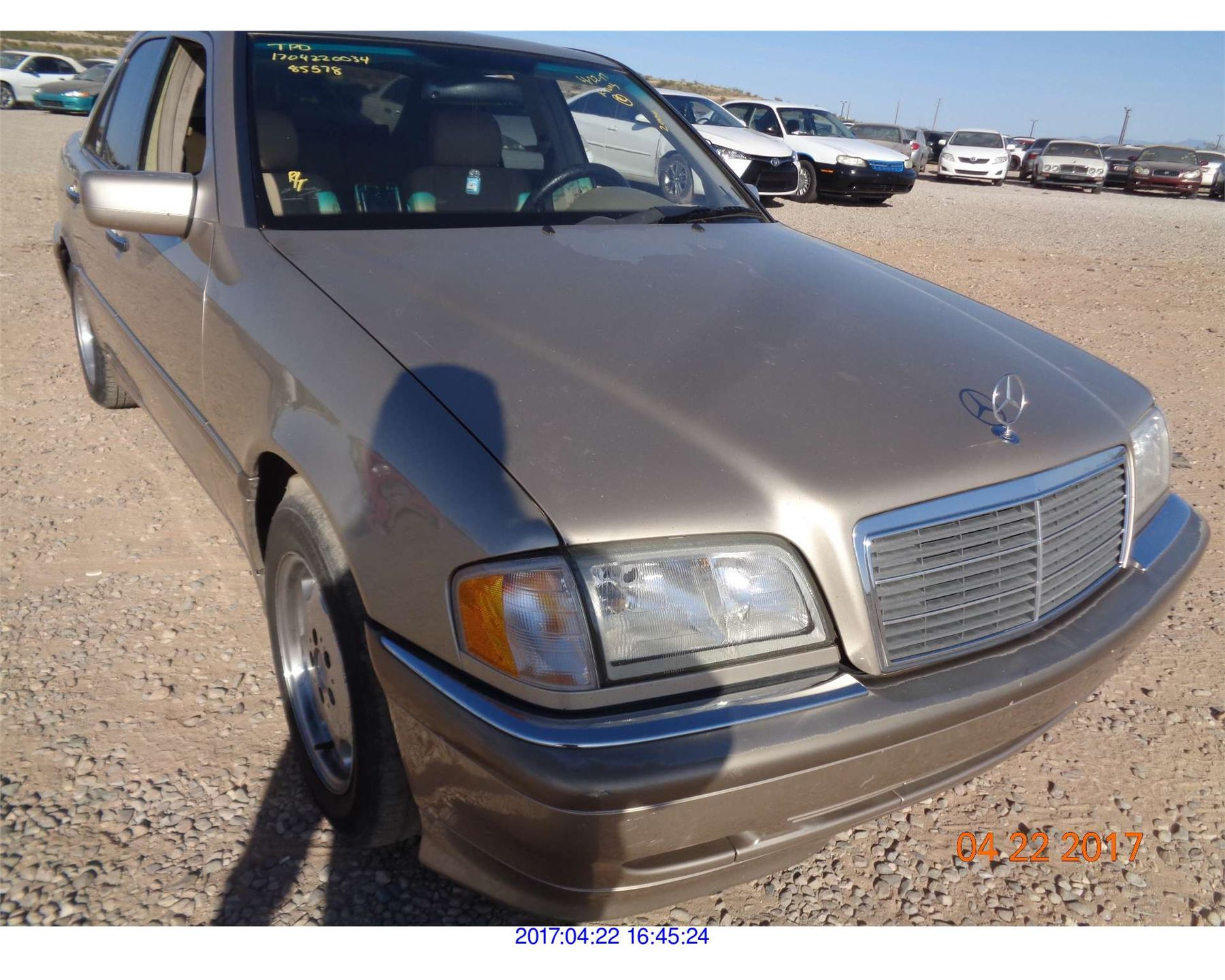 2000 Mercedes Benz C230 Salvage Title Rod Robertson