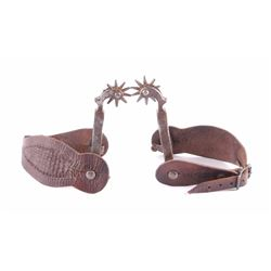 Buermann Spurs w/ Prineville Oregon Straps