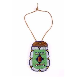 Blackfoot Indian Beaded Pouch