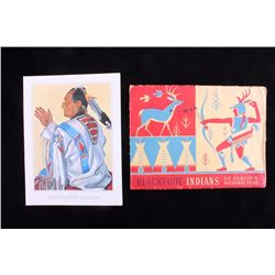 Blackfoot Indians of Glacier by Winold Reiss
