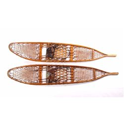 WWII U.S. Army Snocraft Wooden Snowshoes