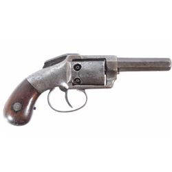 Allen&Wheelock Bar Hammer .34 Cal Pocket Revolver