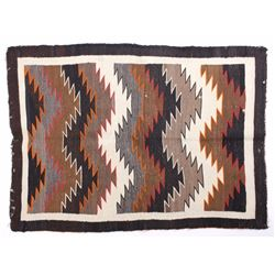 Navajo Crystal Eye Dazzler Trade Wool Rug