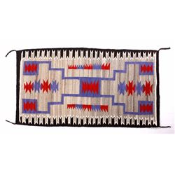 Navajo Two Grey Hills Wool Rug