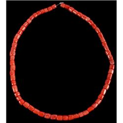 Large Pacific Branch Coral Collection Necklace