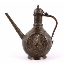 Antique Copper Turkish Bedouin Dallah Coffee Pot
