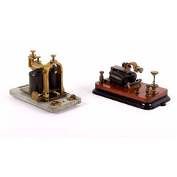 Antique Bunnell Telegraph Relay and Sounder