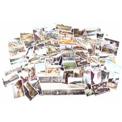 62 Yellowstone & Montana Antique Post Cards