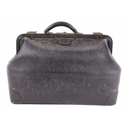 Antique Genuine Leather Doctors Bag