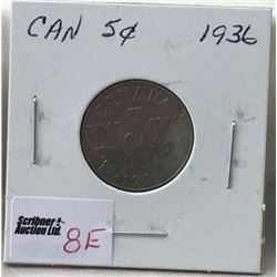 Canada Five Cent - CHOICE OF 7