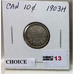 Canada Ten Cent - CHOICE OF 5