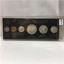 Canada Centennial Year Coin Set