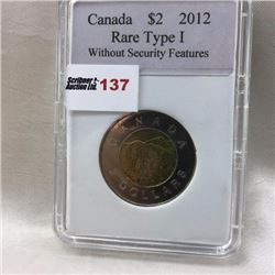 Canada Two Dollar Coin