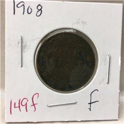 Canada Large Cent - CHOICE OF 9