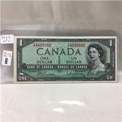 Canada $1 Bill 1954 - CHOICE OF 5