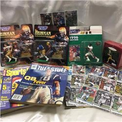 Variety of NFL Collectibles
