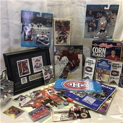 Large Collection of Montreal Canadiens Collectibles & Memorabilia