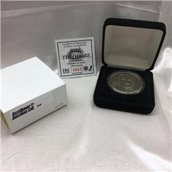 The Highland Mint - Numbered Edition Medallion - Hockey