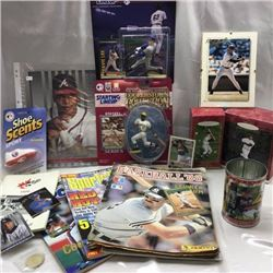 Tray Lots - Baseball Collectibles - CHOICE of 4 Trays